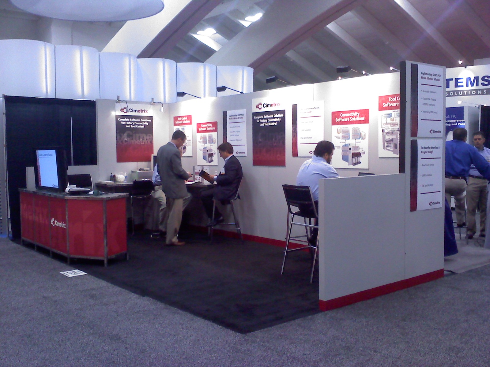 SEMICON West 2010 Booth