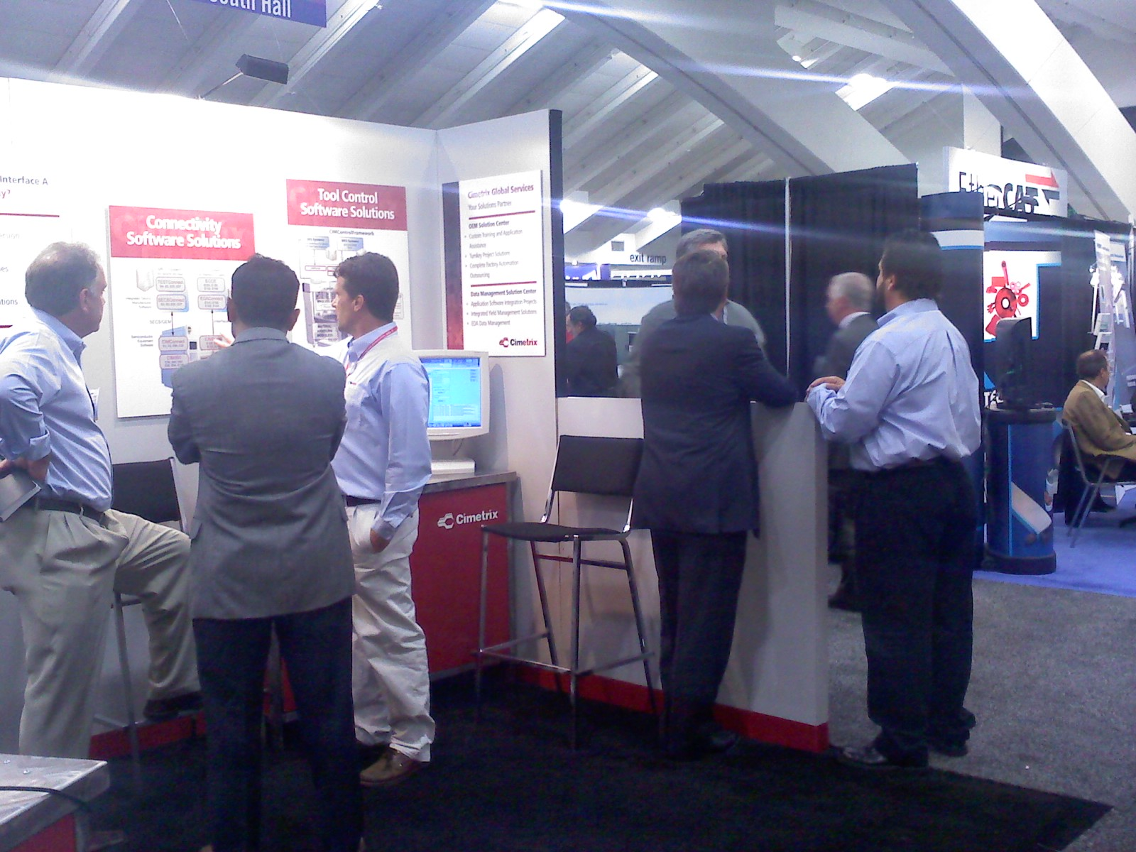 SEMICON West 2010 booth 2